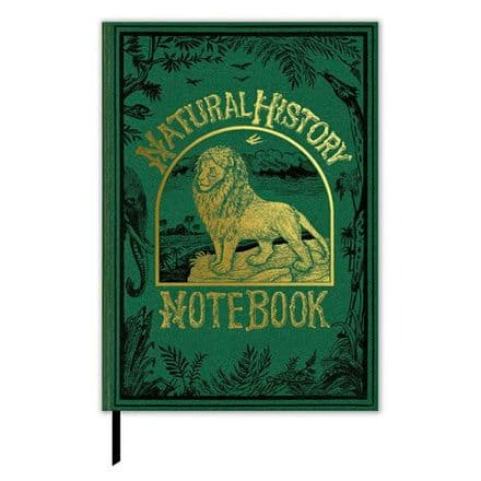 Natural History Lined Hard Back Journal  / Notebook.